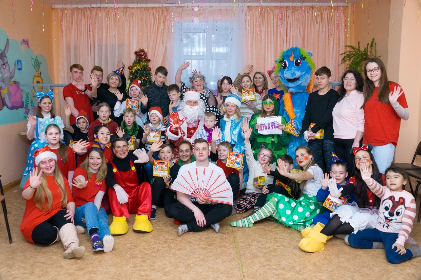 Праздник пришел в Орловский детский дом